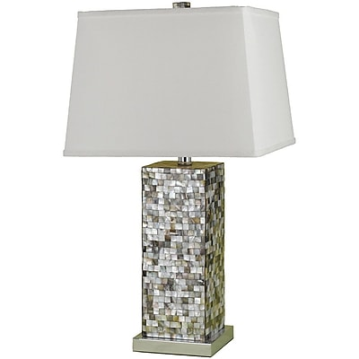 AF Lighting 6671 Table Lamp, Mosaic (6671TL)