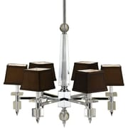 AF Lighting 6685 6-Light Crystal Chandelier (66856H)
