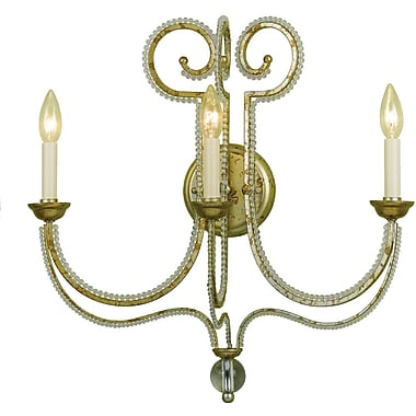 AF Lighting Camerson Three Light Wall Sconce (67383W)