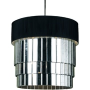 AF Lighting 6740 Pendant, Black Shade (67406H)