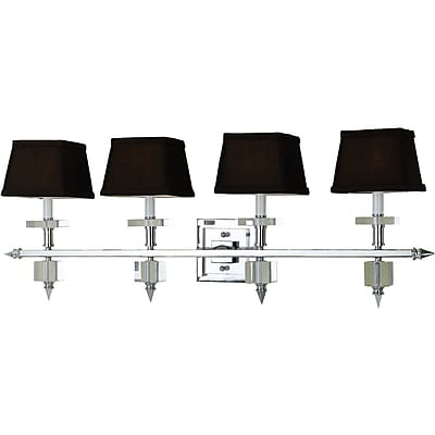 AF Lighting 6768 Four Light Vanity (67684W)