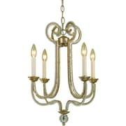 AF Lighting 6773 Four-Light Chandelier (67734H)