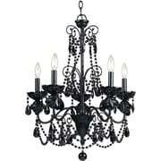 AF Lighting Mischief Five Light Chandelier (75065H)