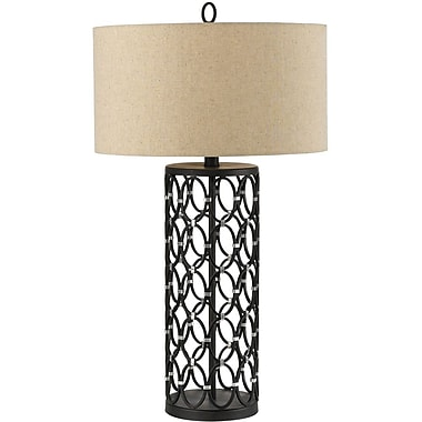 AF Lighting Cosmo Table Lamp, Oil Rubbed Bronze (8100TL)