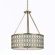 AF Lighting 8218 Large Pendant, Satin Brass (82185H)