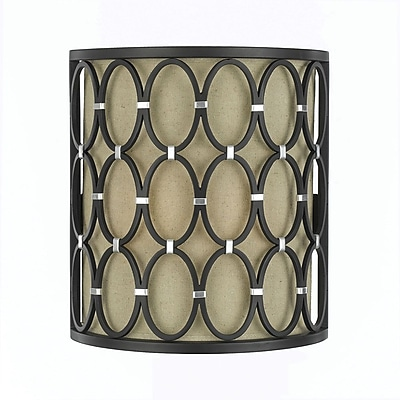 AF Lighting 8219 Wall Sconce, Oil Rubbed Bronze (82192W)