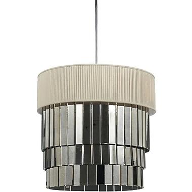 AF Lighting Garbo 6 Light Pendant, Ivory (82316H)