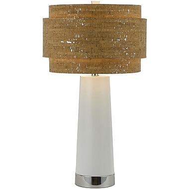 AF Lighting Aviva Table Lamp, Pearl (8402TL)