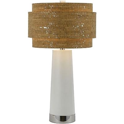 AF Lighting 8402 Table Lamp, Pearl (8402TL)