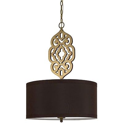 AF Lighting 8422 Pendant, Satin Brass (84224H)