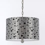 AF Lighting Drizzle Pendant, Black Shade (84433H)