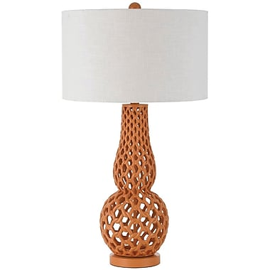AF Lighting Chain Link Table Lamp, Jelly Bean (8486TL)