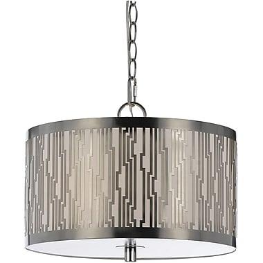 AF Lighting Loyd Pendant, Satin Nickel (84903H)