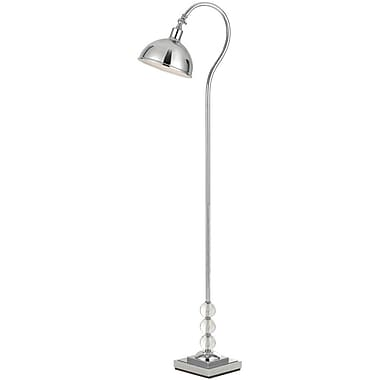 AF Lighting Hollace Floor Lamp, Chrome (8495FL)