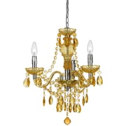 AF Lighting Fulton Mini Chandelier, Gold (85013H)