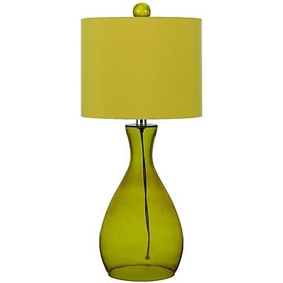 AF Lighting Mercer Hand-Blown Glass Table Lamp, Sugar Cane (8520TL)