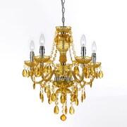AF Lighting Fulton 5-Light Chandelier, Gold (85235H)