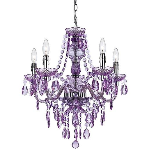 Af lighting fulton 5 light chandelier grape 85265h staples httpsstaples 3ps7is aloadofball Gallery