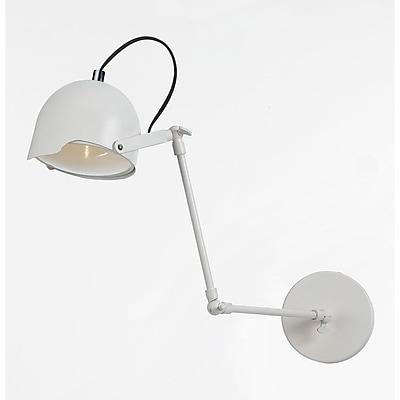 AF Lighting Cooper 3-Way Adjustable Wall Sconce, White (85531W)