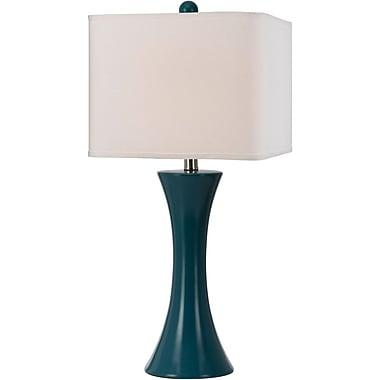 Madison Ceramic Table Lamp- Sea Blue