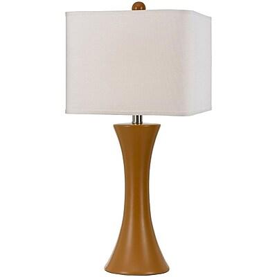 Madison Ceramic Table Lamp- Orange