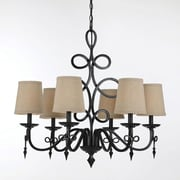 AF Lighting 8600 Chandelier, Bronze (86006H)