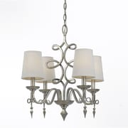 AF Lighting 8602 Mini Chandelier, Foil (86024H)