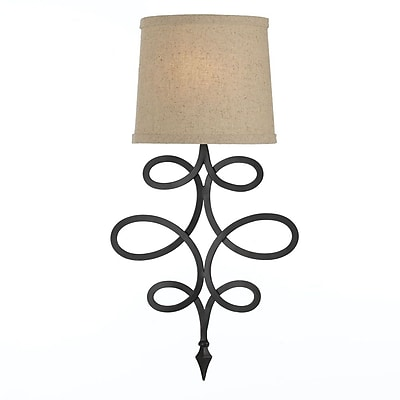 AF Lighting 8605 Sconce, Rubbed Oil (86051W)
