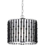 AF Lighting Bijou Pendant, Black (87221P)