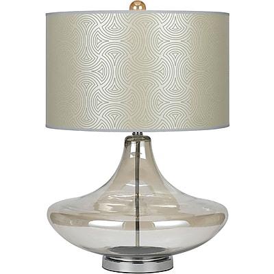AF Lighting 8901 Glass Table Lamp, Champagne (8901TL)