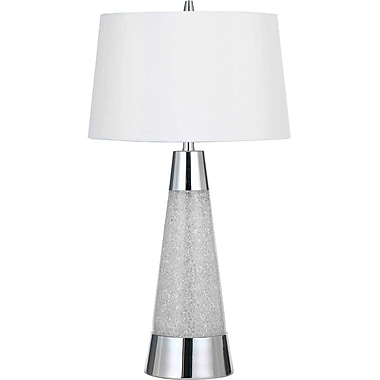 AF Lighting Bling Table Lamp, Chrome (9010TL)