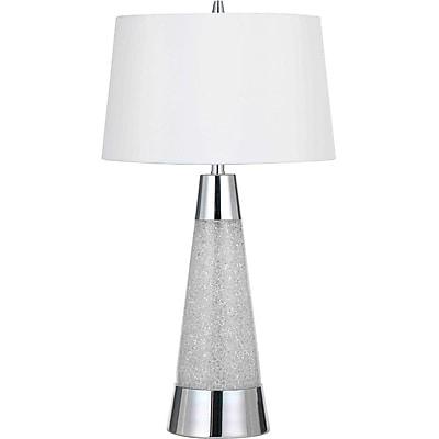 AF Lighting 9010 Table Lamp, Chrome (9010TL)
