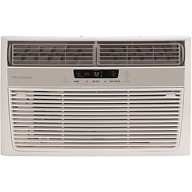 Frigidaire 6,000 BTU 115V Window-Mounted Mini-Compact Air Conditioner with Full-Function Remote Control (FRA064AT7)