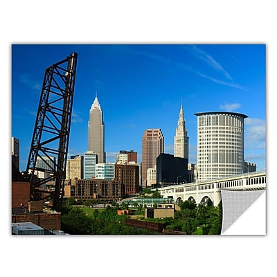 ArtWall 'Cleveland 13' Art Appeelz Removable Wall Art Graphic 32