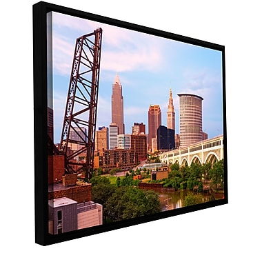 ArtWall 'Cleveland 10' Gallery-Wrapped Canvas 12