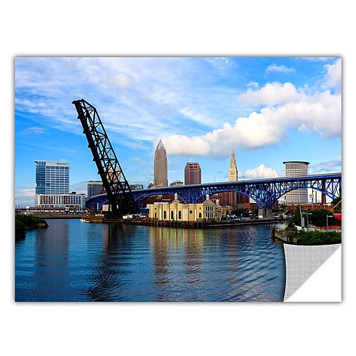 "ArtWall 'Cleveland 12' Art Appeelz Removable Wall Art Graphic 16"" x 24"" (0yor025a1624p)"