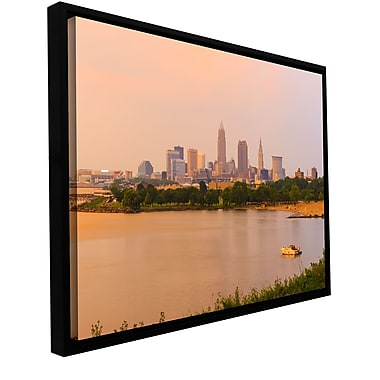 ArtWall 'Cleveland 19' Gallery-Wrapped Canvas 16