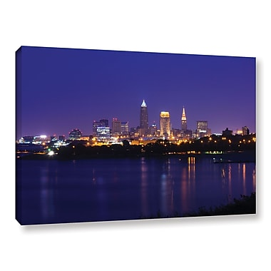 ArtWall 'Cleveland 18' Gallery-Wrapped Canvas 24