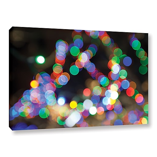 "ArtWall 'Bokeh 1' Gallery-Wrapped Canvas 16"" x 24"" (0yor005a1624w)"