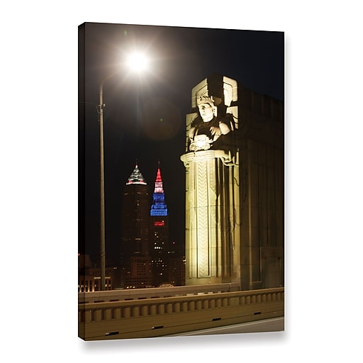"ArtWall 'Cleveland 6' Gallery-Wrapped Canvas 24"" x 36"" (0yor019a2436w)"