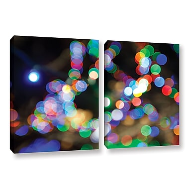 ArtWall 'Bokeh 2' 2-Piece Gallery-Wrapped Canvas Set 32