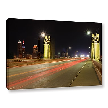 ArtWall 'Cleveland 7' Gallery-Wrapped Canvas 32