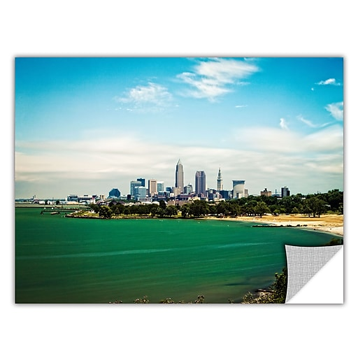 "ArtWall ""Cleveland 22"" Art Appeelz Removable Graphic Wall Art 32"" x 48"" (0yor035a3248p)"