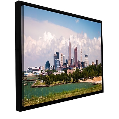 ArtWall 'More Cleveland' Gallery-Wrapped Canvas 24
