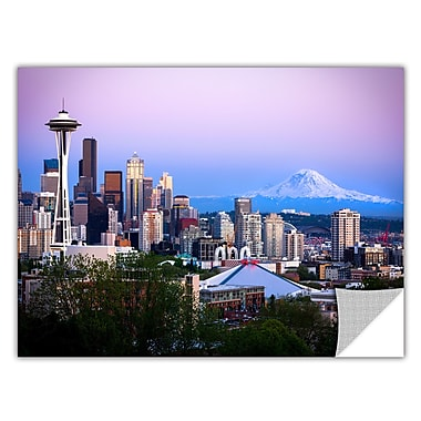 ArtWall 'Seattle And Mt Rainier 2' Art Appeelz Removable Wall Art Graphic 32