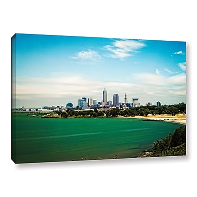 ArtWall 'Cleveland 22' Gallery-Wrapped Canvas 32