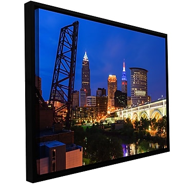 ArtWall 'Cleveland 21' Gallery-Wrapped Canvas 32