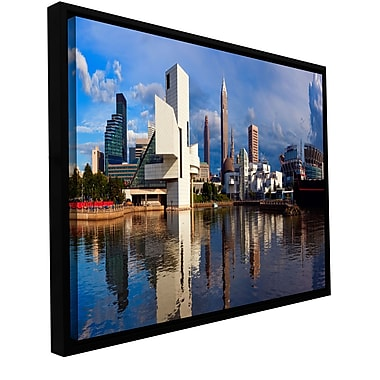 ArtWall 'Cleveland 20' Gallery-Wrapped Canvas 24
