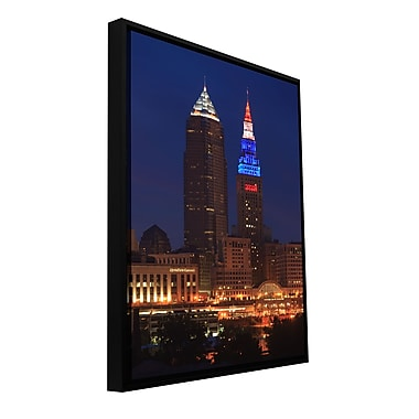 ArtWall 'Cleveland 4' Gallery-Wrapped Canvas 16