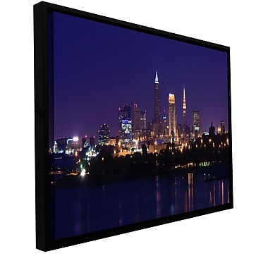 ArtWall 'Cleveland 16' Gallery-Wrapped Canvas 24